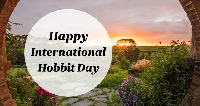 Happy International Hobbit Day Graphic